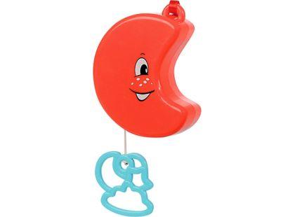 Natahovací hudební hračka 12 cm Simba - Měsíček
