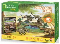 National Geographic Kids 3D Puzzle Dino park 43 dílků