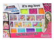 Navlékací korálky Girl beuaty set