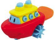 Navystar Natahovací hračka do vody - červená loď