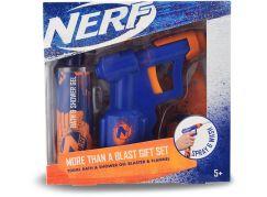 NERF dárková sada vodní pistole se sprchovým gelem 200ml