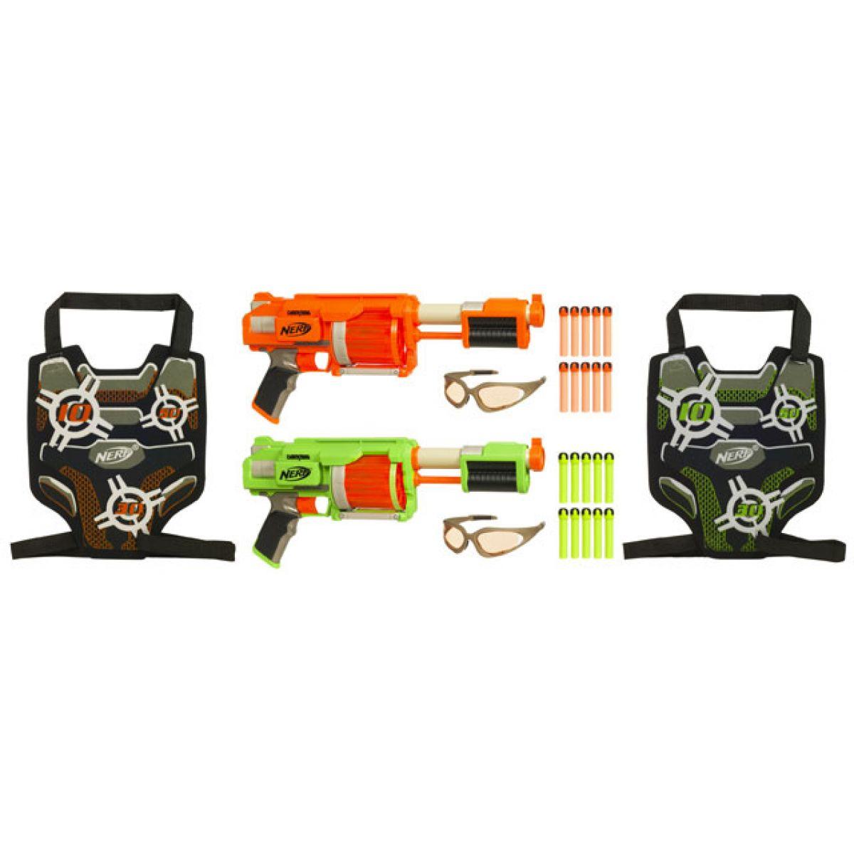 NERF Dart-Tag FURYFIRE hrací set pro 2 hráče HASBRO 92695