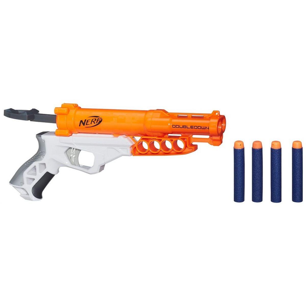 Nerf N-Strike Elite Dvouhlavňová pistole s 6 módy