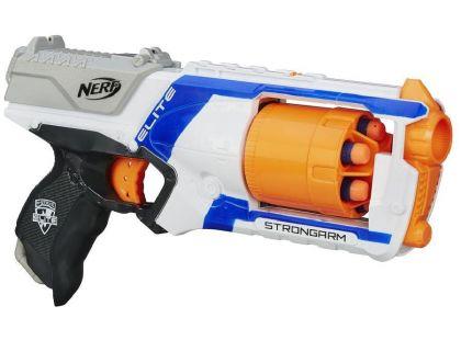 Hasbro Nerf Elite pistole s bubínkovým zásobníkem - Bílá