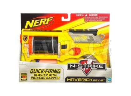 NERF N-STRIKE Pistole s bubínkovým zásobníkem
