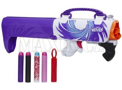 Nerf Rebelle Špionská pistole ukrytá v kabelce - Fialová