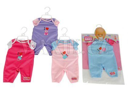 New Born Baby Oblečení pro panenku 38-43cm