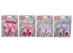 New Born Baby Ponožky a botičky pro panenky