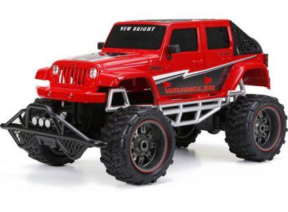 New Bright RC auto Džíp 1:8 - Červená