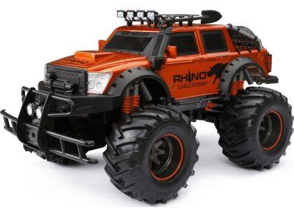New Bright RC Auto Expedice nosorožec - Červená