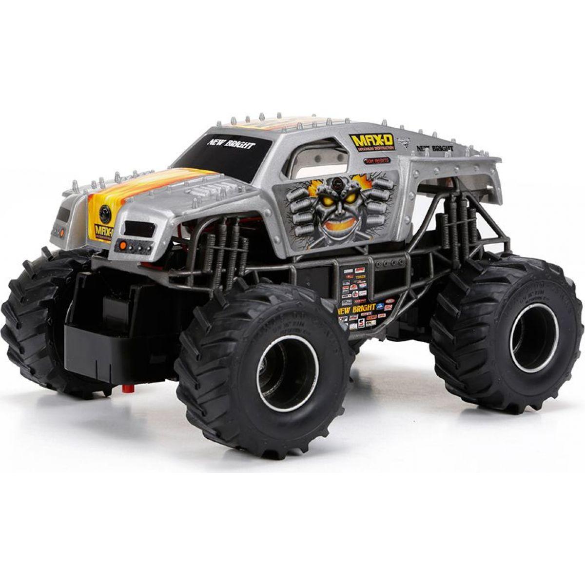 New Bright RC Auto Monster 1:24 - Šedá