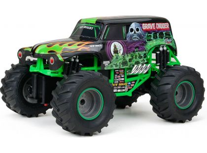 New Bright RC Auto Monster 1:24 - Zelená