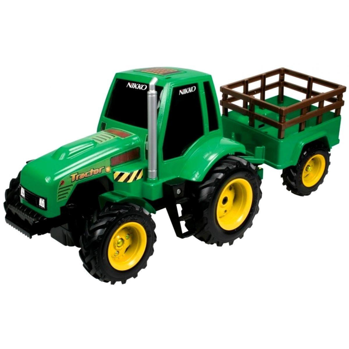 Nikko RC Traktor s valníkem