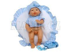 Nines Golosinas chlapeček v modrém s polštářkem 26cm