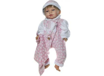 Nines Mi Bebito Pijama blondýnka 45 cm