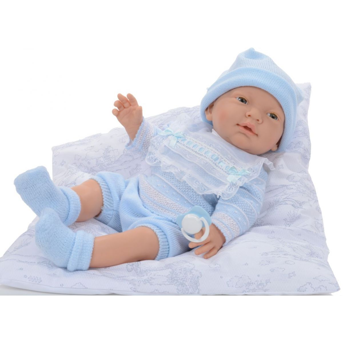 Nines panenka Novorozeně Plaváček 45 cm kluk