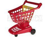 Nákupní vozík 42 cm 2 druhy Ecoiffier - Červená