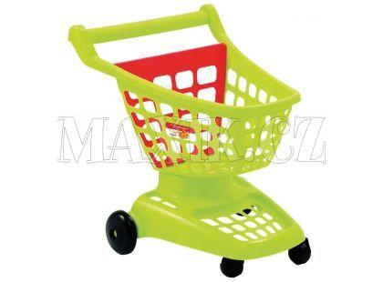 Nákupní vozík 42 cm 2 druhy Ecoiffier - Zelená