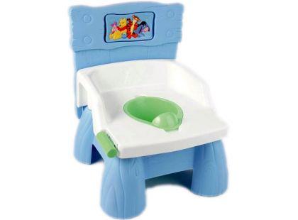 Nočník se zvuky WC - Medvídek Pú