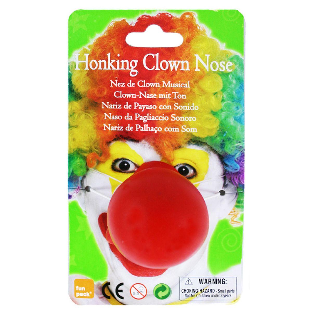 Nos klaun se zvukem