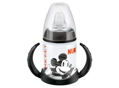 Nuk Disney Mickey Láhev na učení 150ml - černá