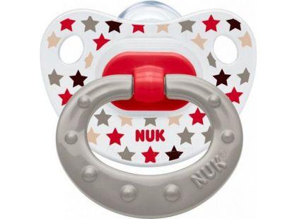 Nuk Dudlík Classic Happy Days 0-6m - Béžový