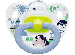 Nuk Dudlík Classic Happy Days 0-6m - Indián