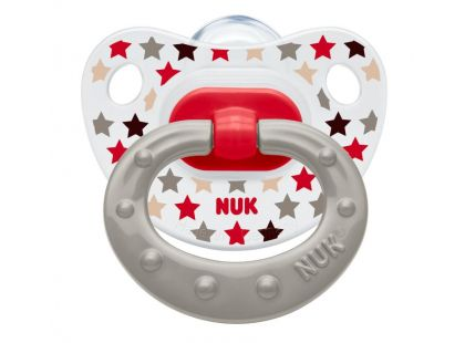 Nuk Dudlík Classic Happy Days 18m+ - Hvězdy