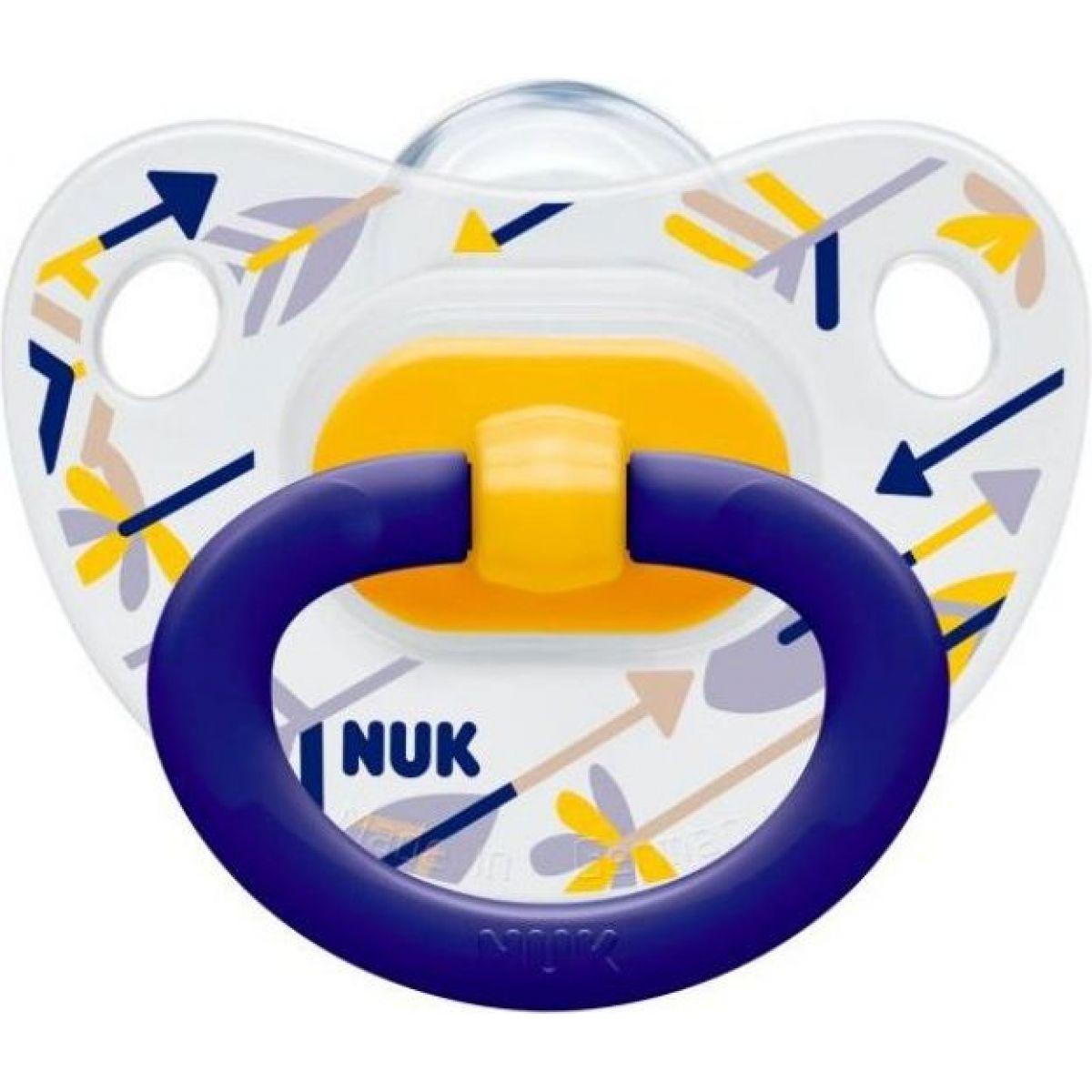 Nuk Dudlík Classic Happy Days 6-18m - Šípy