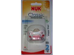 Nuk Dudlík Classic Happy Days 6-18m Srdce