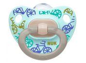 NUK Dudlík Classic Happy Days, SI, V2 6-18m kolo zelené