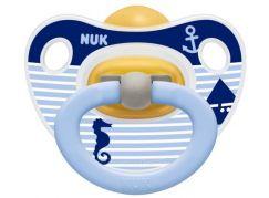 Nuk Dudlík Classic Happy Kids latex 6-18m - Moře pruhy
