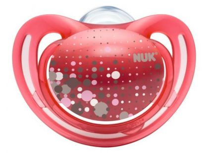 Nuk Dudlík Freestyle 0-6m - Tmavě růžový