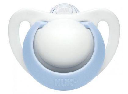 Nuk Dudlík Genius 0-2m - Modrý