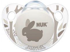 Nuk Dudlík Trendline Adore Latex 0-6m Králíček