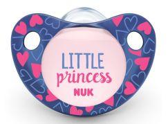 NUK Dudlík Trendline Adore, SI, V2 6-18m Little Princess
