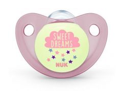 NUK Dudlík Trendline Den & Noc, SI, V2 6-18m Sweet Dreams
