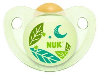 Nuk Dudlík Trendline Den/Noc latex 6-18m - Listy
