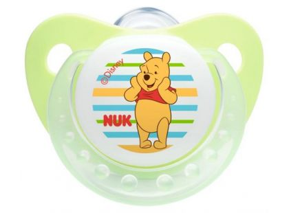 Nuk Dudlík Trendline Disney Medvídek Pú 6-18m - Zelený