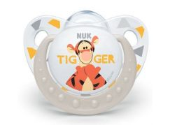 NUK Dudlík Trendline Disney Medvídek Pú SI, V2 6-18m bílý tygr