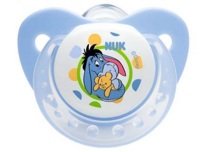 Nuk Dudlík Trendline Disney Medvídek Pú silikon 0-6m. - Modrá
