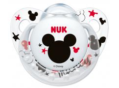 Nuk Dudlík Trendline Disney Mickey 0-6m - Bílý