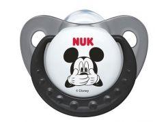 Nuk Dudlík Trendline Disney Mickey 0-6m - Šedý