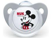 Nuk Dudlík Trendline Disney Mickey SI, V2 6-18m šedý