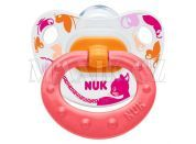 Nuk Dudlík Classic Happy Days 0-6m - Růžový