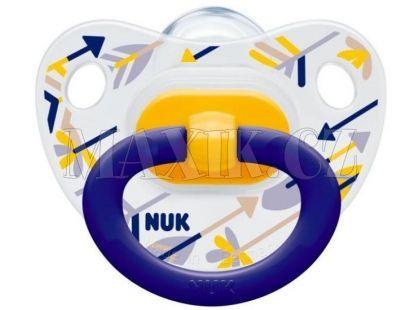 Nuk Dudlík Classic Happy Days 18m+ - Šípy