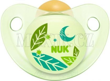 Nuk Dudlík Den a Noc 0-6m - Zelený měsíc