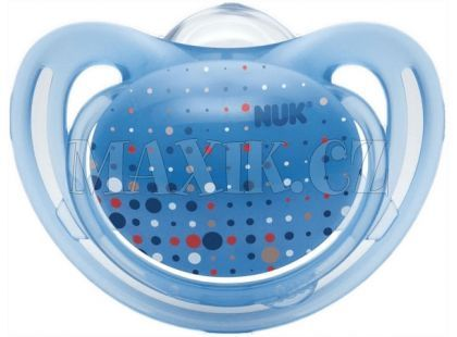Nuk Dudlík Freestyle 0-6m - Světle modrý