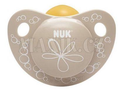 Nuk Dudlík Trendline Adore latex 6-18m - Béžový