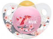 Nuk Dudlík Trendline Adore latex 6-18m - Růžový